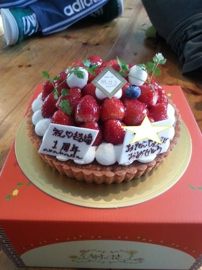 ☆誕生日ケーキ☆