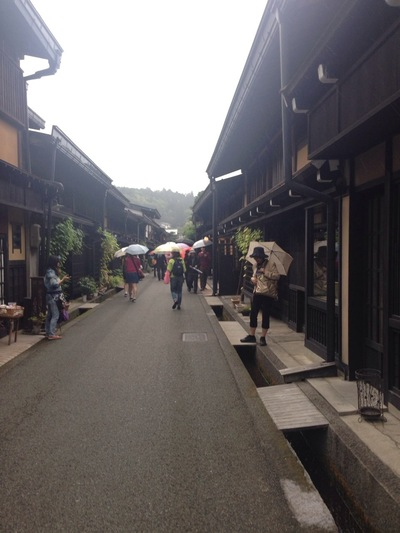 高山へ小旅行(*^_^*)