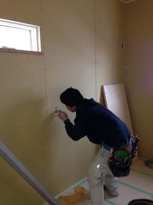 外壁工事が完了!(^^)!