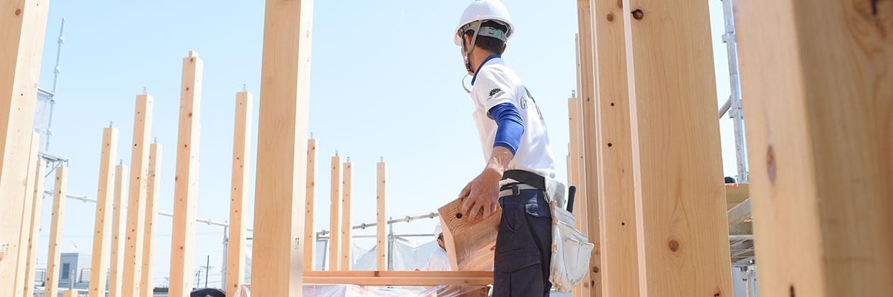 善匠はスタッフ全員で環境・安全の向上に徹底した現場づくりを行っています。