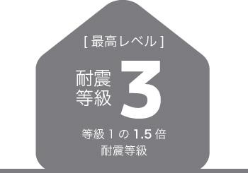 耐震等級3