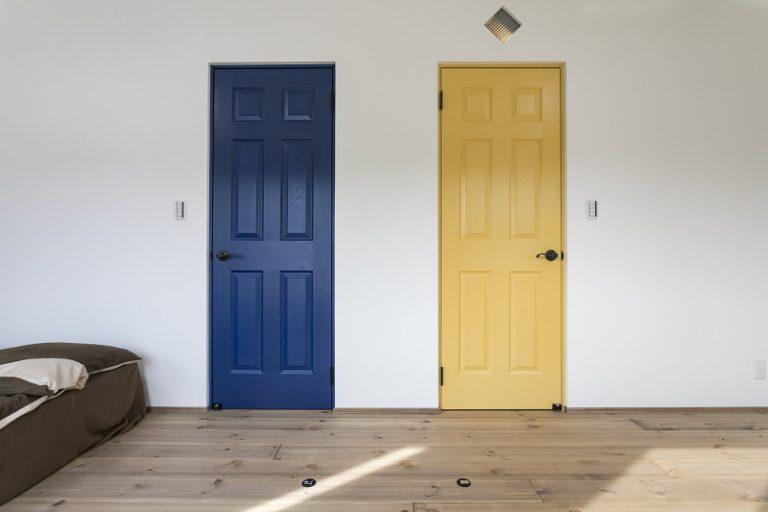 アクセントや色の使い方がオシャレで素敵なお家