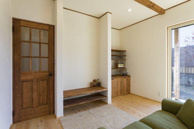 落ち着いた外観&かわいい内装の平屋のお家