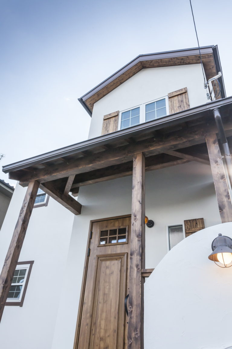 カントリー風が可愛いナチュラルスタイルのお家