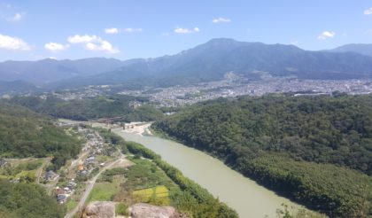 え、中津川にいたの!?